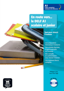 En route vers... le DELF A1 scolaire et junior. Buch mit Audio-CD