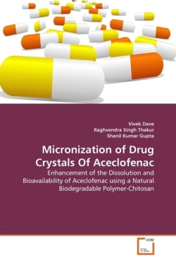 Micronization of Drug Crystals Of Aceclofenac