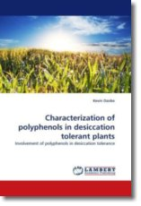 Characterization of polyphenols in desiccation tolerant plants