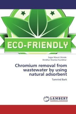 Chromium removal from wastewater by using natural adsorbent