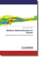 Welfare Administration in Assam - Sarmah, Jayanta Krishna