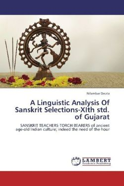 A Linguistic Analysis Of Sanskrit Selections-XIth std. of Gujarat