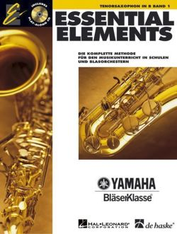 Essential Elements, für Tenorsaxophon in B, m. Audio-CD