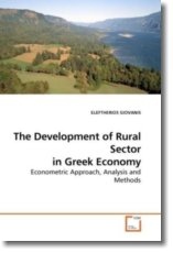 The Development of Rural Sector in Greek Economy - GIOVANIS, ELEFTHERIOS