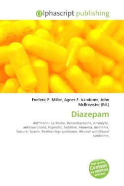 Diazepam: Hoffmann? La Roche, Benzodiazepine, Anxiolytic, anticonvulsant, Hypnotic, Sedative, Amnesia, Insomnia, Seizure, Spasm, Restless legs syndrome, Alcohol withdrawal syndrome.