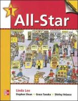 All-Star - Book 1 (Beginning) - Student Book W/ Audio Highlights
