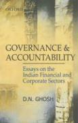 Governance and Accountability: Essays on the Indian Financial and Corporate Sectors