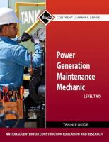 Power Gen Maint Mech Lev 2 Tg - National Center for Construction Educati
