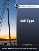 Basic Rigger Trainee Guide