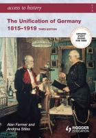 The Unification of Germany 1815-1919