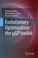 Evolutionary Optimization: the µGP toolkit