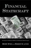 Financial Statecraft: The Role of Financial Markets in American Foreign Policy