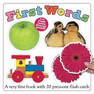 First Words [With Flash Cards]