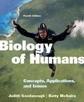 Biology of Humans: Concepts, Applications, and Issues [With Access Code]