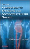 Novel Therapeutic Targets for Antiarrhythmic Drugs