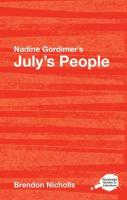 Nadine Gordimer's July's People