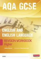 Revise Gcse Aqa English
