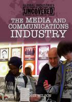 Media and Communications Industry - Bowden, Rob