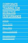 Corporate Training for Effective Performance