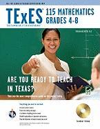 Texas Texes 115 Mathematics 4-8 with Testware