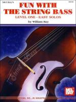 Fun with the String Bass: Level One - Easy Solos