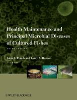 Health Maintenance and Principal Microbial Diseases of Cultured Fishes