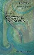 Known & Unknown - Harmon, Tamika
