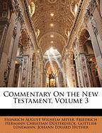 Commentary on the New Testament, Volume 3