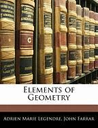 Elements of Geometry - Legendre, Adrien Marie; Farrar, John