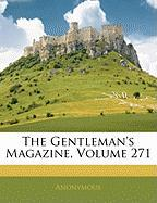 The Gentleman's Magazine, Volume 271 - Anonymous