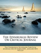 The Edinburgh Review or Critical Journal