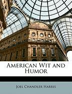 American Wit and Humor