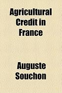 Agricultural Credit in France