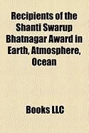 Recipients of the Shanti Swarup Bhatnagar Award in Earth, Atmosphere, Ocean