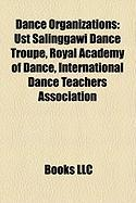 Dance Organizations: Ust Salinggawi Dance Troupe