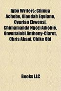 Igbo Writers: Chinua Achebe