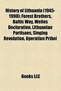 History of Lithuania (1945-1990): Forest Brothers