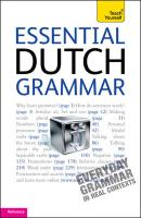 Teach Yourself Essential Dutch Grammar