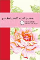 Pocket Posh - Word Power: 120 Words You Should Know