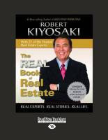 The Real Book of Real Estate (Volume 1 of 2): Real Experts. Real Stories. Real Life.