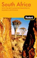 Fodor's South Africa, 5th Edition: With the Best Safari Destinations and National Parks (Travel Guide)