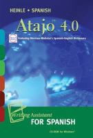Atajo 4.0 CD-ROM: Writing Assistant for Spanish
