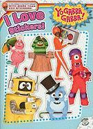 I Love Stickers! [With Sticker(s)] (Yo Gabba Gabba! (Simon Paperback))