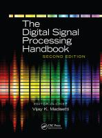The Digital Signal Processing Handbook, Second Edition - 3 Volume Set