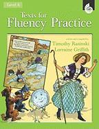 Texts for Fluency Practice, Level A - Rasinski, Timothy; Griffith, Lorraine