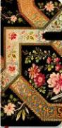Paperblanks Lyon Florals Filigree Floral Ebony Slim Notebook with Lined Pages