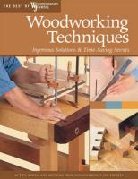 Woodworking Techniques: Ingenious Solutions & Time-Saving Secrets