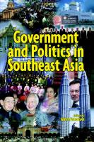 Government and Politics in South-East Asia
