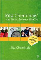 Rita Cheminais' Handbook for New SENCOs: Leading and Coordinating SEN Provision