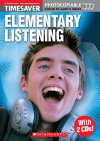 Elementary Listening with 2 CDs (Timesaver)